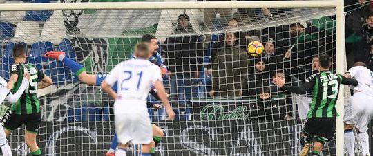 Il gol di Masiello (ilmessaggero.it)