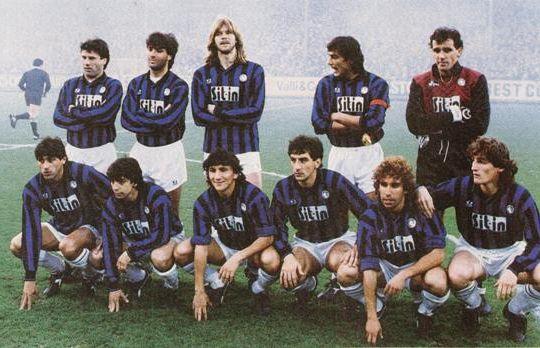 L'Atalanta 87-88 protagonista in Coppa delle Coppe (foto De Pascale/ilposticipo.it)