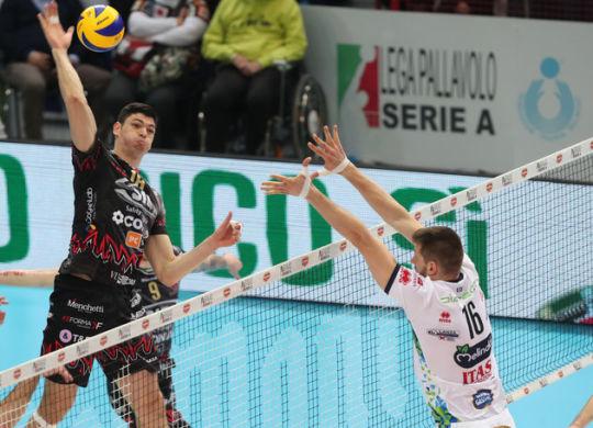 Perugia ha travolto Trento conquistando la finale (Legavolley/Zani)