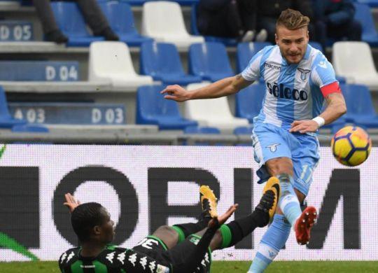 Ciro Immobile ha segnato il secondo gol su rigore (lapresse)