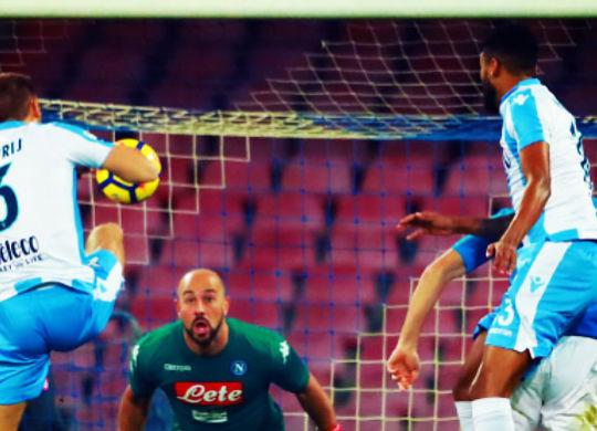 De Vrij ha segnato il primo gol della gara (imagephotoagency.it)