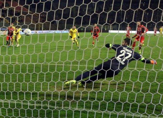 Il gol di Scappini (immagini.quotidiano.net/Lapresse)