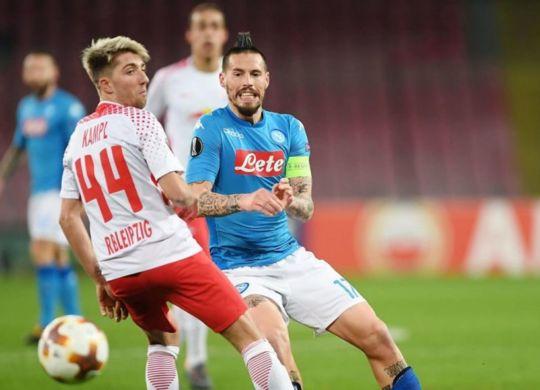 Napoli a rischio eliminazione dopo la sconfitta col Lipsia (it.eurosport.com)