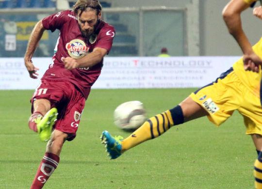 Cristian Altinier ha segnato una tripletta contro l'Albinoleffe (lapresse/corrieredellosport.it)