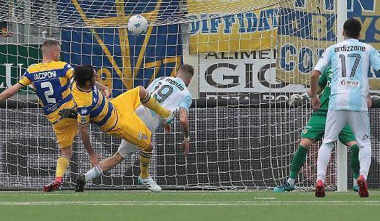 La Mantia ha segnato una doppietta contro il Parma (gazzettadiparma.it)