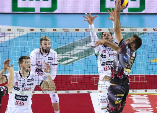 Perugia ha vinto gara 1 contro un'ottima Trento (corrieredellosport.it)