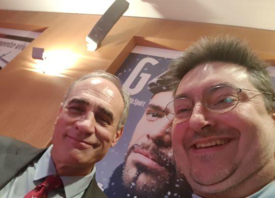 Con Andrea Monti