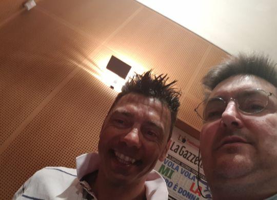 Con Cristian Zorzi