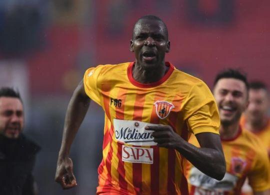 Cheick Diabatè attaccante del Benevento (Lapresse)