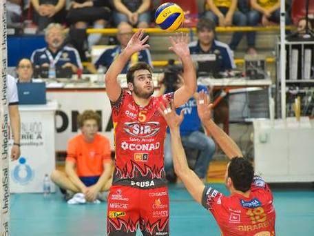 Luciano De Cecco, palleggiatore di Perugia (volleyplus.com)