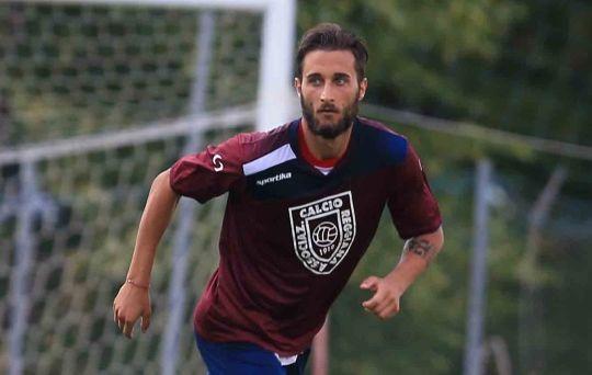 Il difensore della Reggiana Paolo Rozzio (gazzettadireggio.gelocal.it)