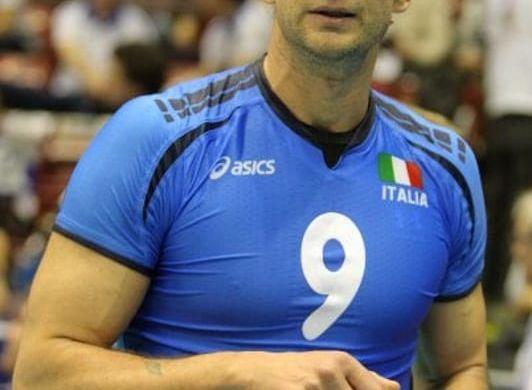 Lorenzo Bernardi quando vestiva la maglia della nazionale (trentotoday.it)