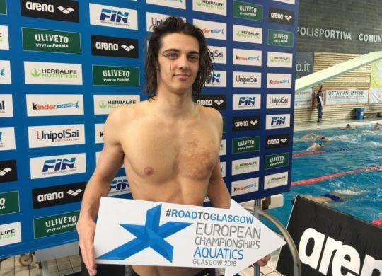 Thomas Ceccon si è qualificato per gli europei di Glasgow (oasport.it)