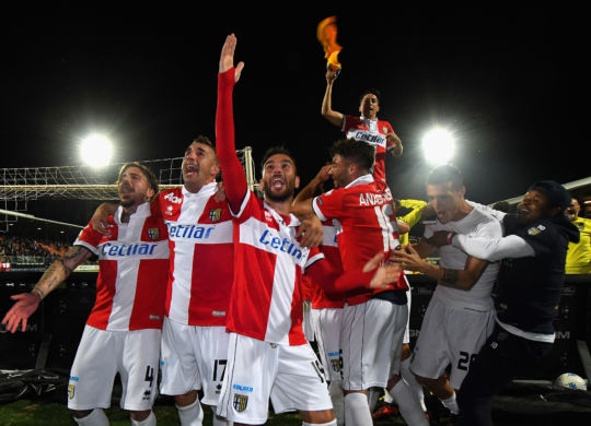 Il Parma promosso in serie A (Alessandro Sabatini/GettyImages)