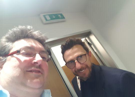 Con Eusebio Di Francesco
