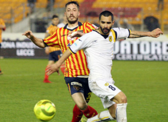 Andrea Saraniti del Lecce è al secondo posto della classifica marcatori del giorne C di Lega pro (leccsette.it)