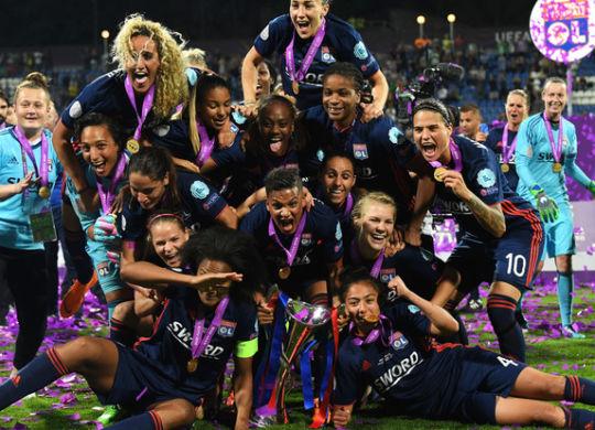Il Lione conquista la Champions per la terza volta (gettyimages)
