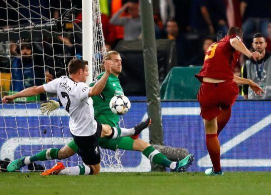 Il gol di Dzeko (calciomercato.com)
