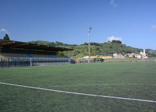 Lo stadio comunale Faraggiana ad Albissola Marina (albissola2010.it)