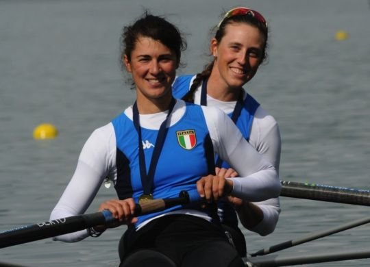 Sara Bertolasi e Alessandra Patelli (canottaggio.org)