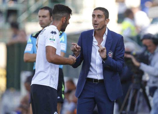 Moreno Longo, attuale allenatore del Frosinone (sport.sky.it)