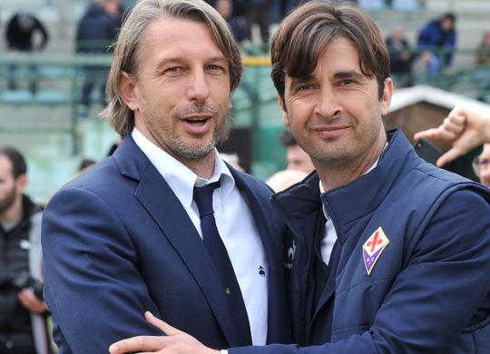 Stefano Vecchi con Emiliano Bigica (corrieredellosport.it)