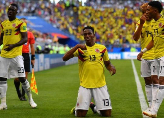 Yerry Mina ha regalato la vittoria alla Colombia (telegraph.co.uk)