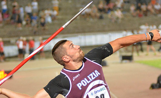 Roberto Bertolini (fiammeoroatletica.it)