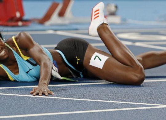 Shaunae Miller campionessa olimpica dei 400 metri piani a Rio 2016 (scroll.in)