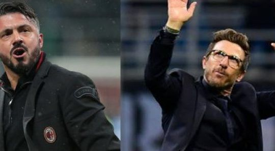 Gattuso e Di Francesco (fattidipallone.it)