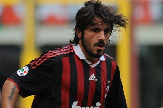 Gennaro Gattuso quando giocava nel Milan (edition.cnn.com)