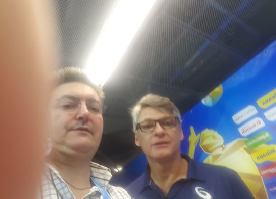 Con Renan Dal Zotto