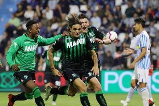 Alessandro Matri ha segnato il secondo gol per il Sassuolo (rainews.it)
