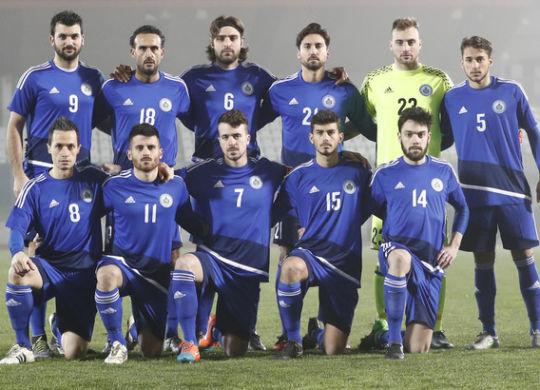 La squadra sammarinese (Claudio Zamagni/ag/tuttosport.com)