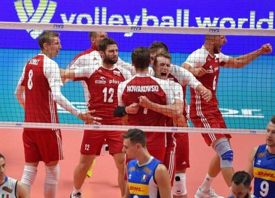 L'entusiasmo dei giocatori polacchi (corrieredellosport.it)