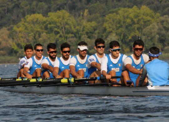 L'otto maschile quinto a Plovdiv (canottaggio.org)