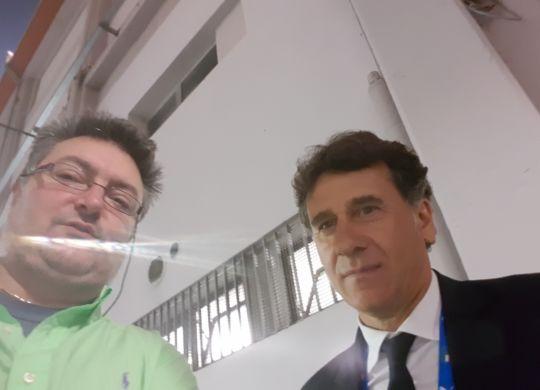 Con Attilio Sorbi
