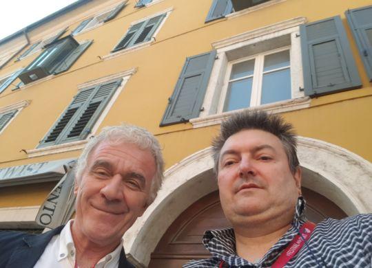 Con Antonio La Torre