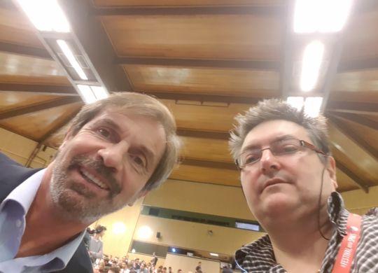 Con Filippo Galli