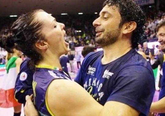 Davide Mazzanti e Serena Ortolani (volleynews.it)