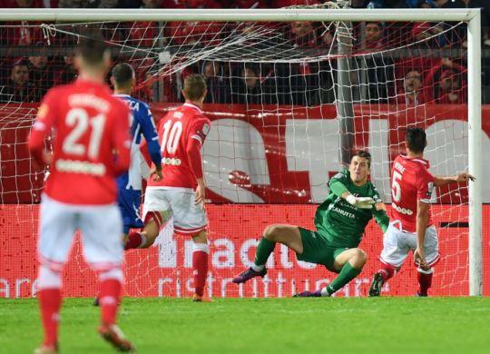 Il gol di Verre in Perugia-Padova (acperugiacalcio.com)