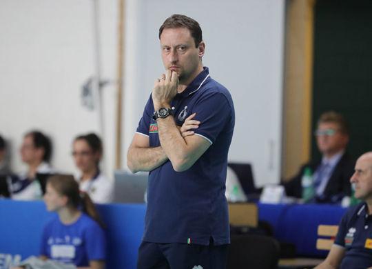 Massimo Bellano tecnico del Club Italia (sportgrigiorosso.it)