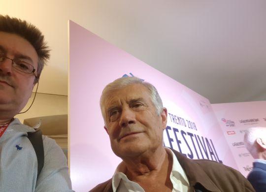 Con Giacomo Agostini