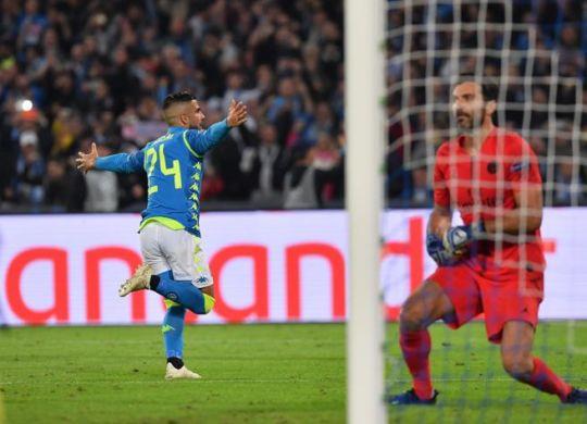 Lorenzo Insigne ha segnato il gol del pareggio (Cafaro/Lapresse)