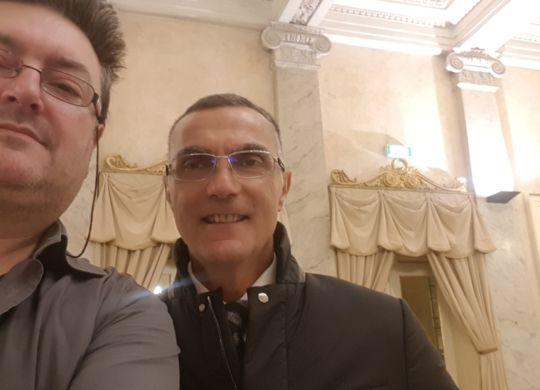 Con Beppe Bergomi