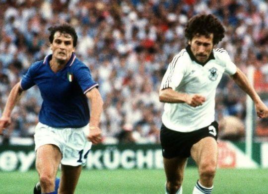Marco Tardelli in Italia-Germania ai mondiali 82 (calcio.fanpage.it)