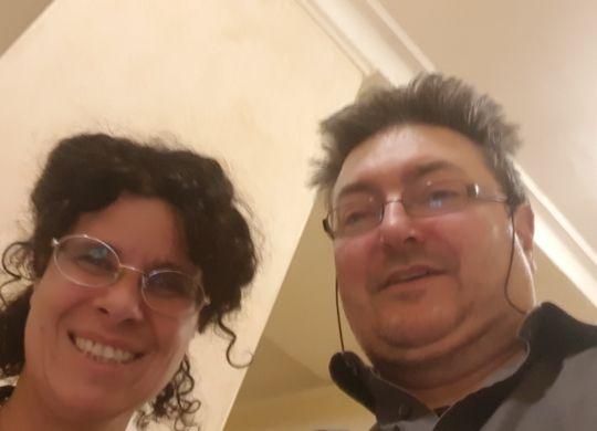 Con Sabrina Peron