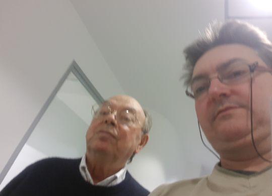 Con Tito Corsi