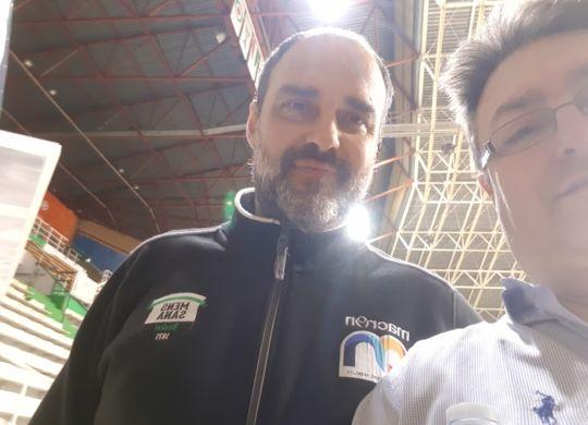 Con Paolo Moretti