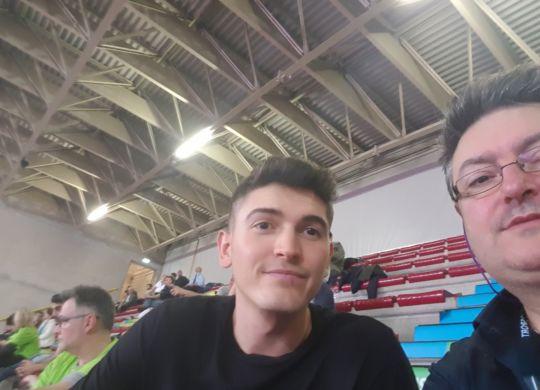Con Luca Spirito